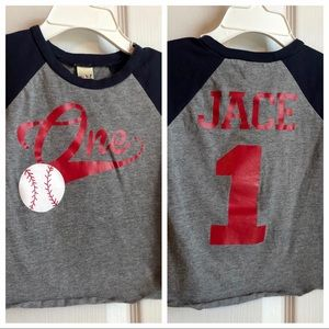Other - Jace One Year Old Shirt